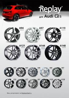 Диски Replay®  для автомобиля Audi Q5 2017