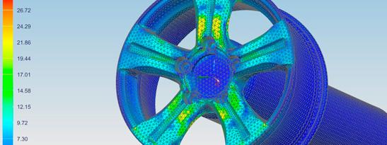 проектирование и виртуальные испытания колеса Replay