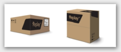 Replay alloy wheel packaging